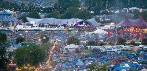 Glastonbury Festival Close Up
