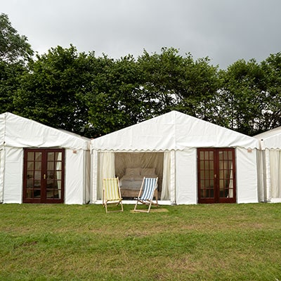 Safari Tents at The Glastonbury Retreat