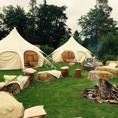 Lotus Belle Tents at The Retreat, Glastonbury