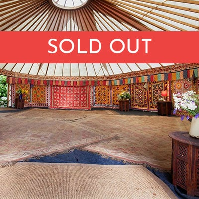 5 Meter family Yurt at The Retreat - Now SOLD OUT