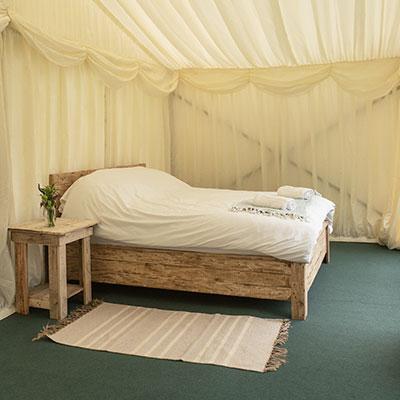 Safari Tent at The Retreat Luxury glamping at Glastonbury Festival