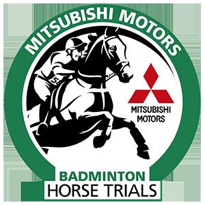 Mitshubishi Motors Badminton Horse Trials official logo