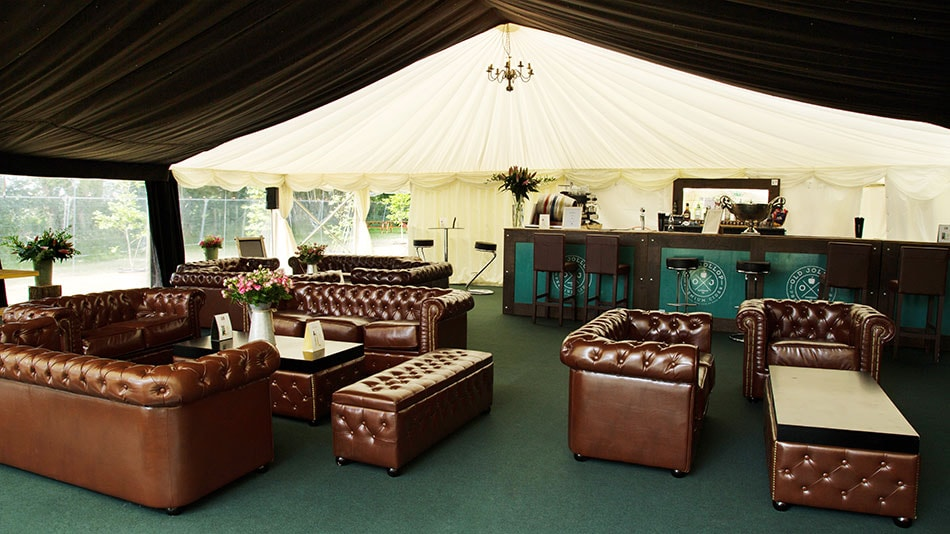 The Retreat Bar and lounge at The Glastonbury Retreat Luxury Glamping Accommodation 2019