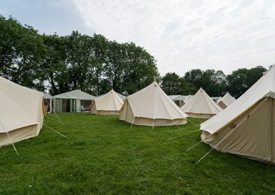 Glamping accommodation The Glastonbury Retreat