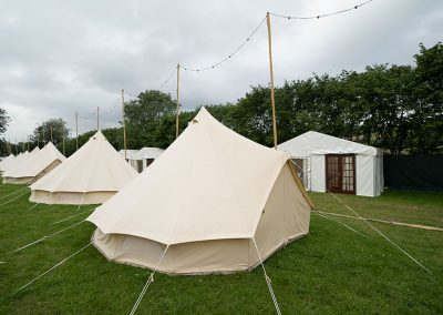 Bell Tents and Safari Tents at The Retreat