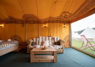 Luxury Safari Tents are fully furnished