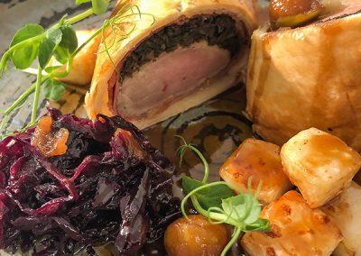 Restaurant standard meals at Glastonbury Retreat Restaurant